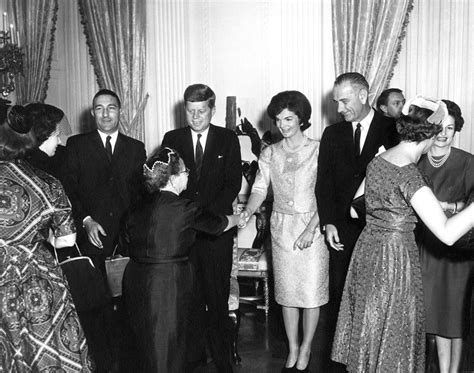 john f kennedy cabinet swearing in ceremony and reception for cabinet secretaries