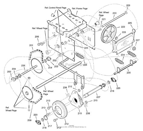 craftsman snowblower parts diagram murray 1695383 c950 52730 0 craftsman dual stage snow