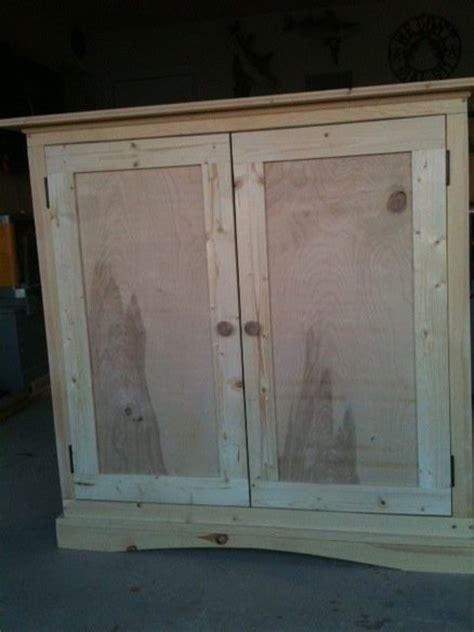 short armoire pine quot short quot armoire by ribsbrisket4me lumberjocks com woodworking community