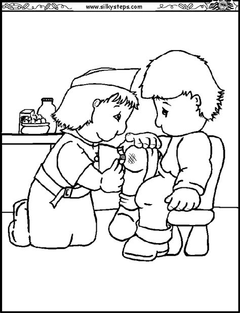 preschool coloring pages nurse nurse coloring pages coloring home