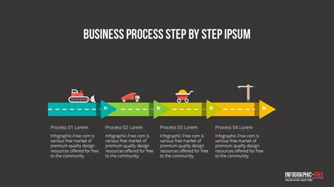 business process template free constructional business process powerpoint template