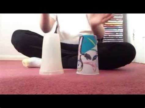 youtube tutorial cup song how to do the cup song with two cups youtube