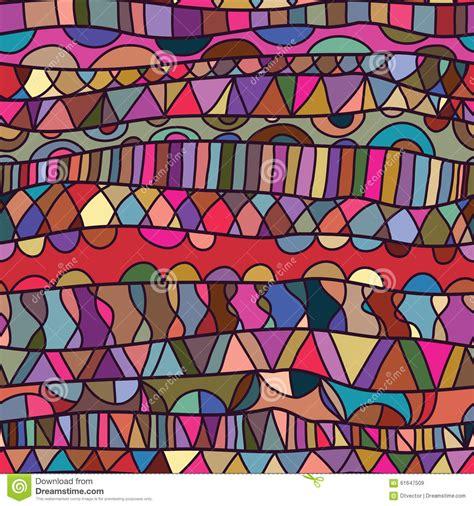 fabric pattern designer jobs line horizontal drawing colorful seamless pattern stock