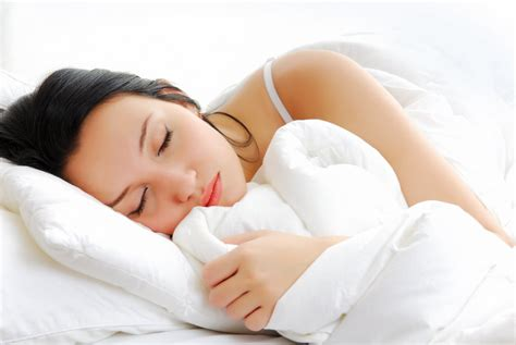 sleeping in bed images