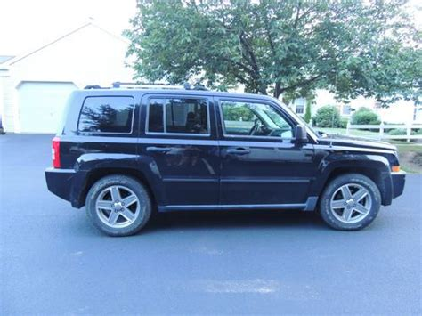 2007 Jeep Patriot Limited Sell Used 2007 Jeep Patriot Limited 4wd With Navigation