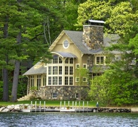 lovely house lovely lake houses