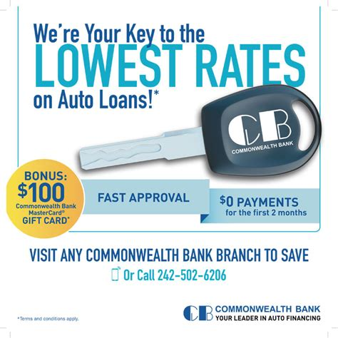 bank auto loans auto loans by commonwealth bank my deals today bahamas