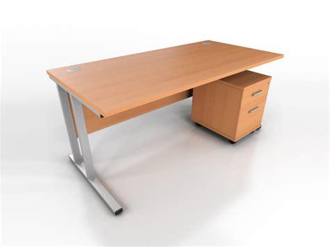 Beech Office Desks Beech Rectangular Desk Icarus Office Furniture