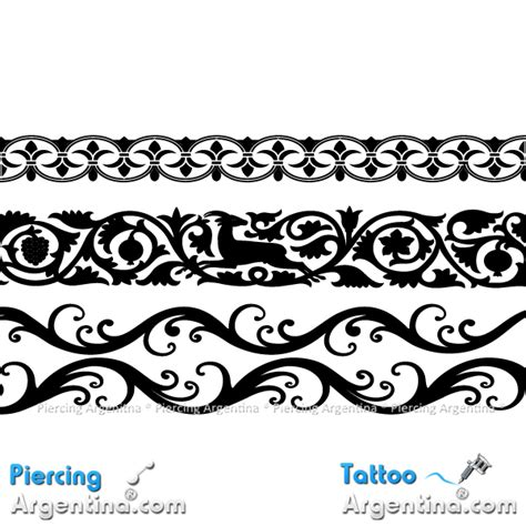 dise 241 os de brazaletes para tatuajes