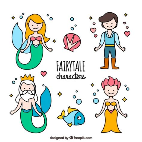 new year story characters siren story characters vector free
