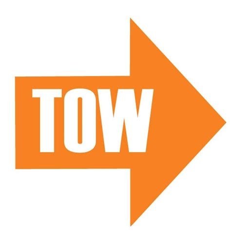 Tow Sticker tow here stickers stickers clothing merchandise