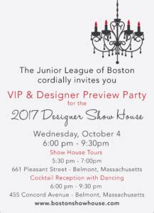 junior league of boston and belmont woman s club partner vip designer preview party the junior league of boston