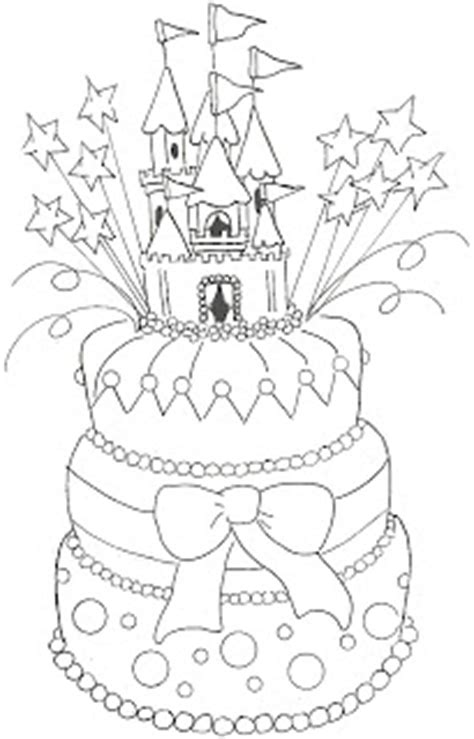 Princess Birthday Cake Coloring Page | mom s coloring pages princess coloring pages princess