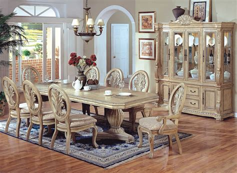 White Dining Room Furniture Sets White Wash Dining Room Set Alliancemv