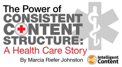 standardized work the power of consistency the power of consistent content structure a health care story