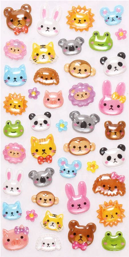 3d Sticker by 3d Stickers With Animals From Japan Sticker