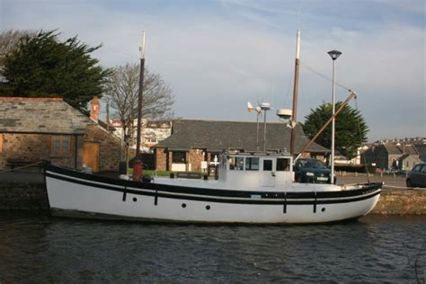 fishing boat for sale scotland for sale scottish trawler wooden motor yacht