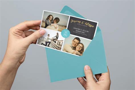 Photo Collage Wedding Invitations
