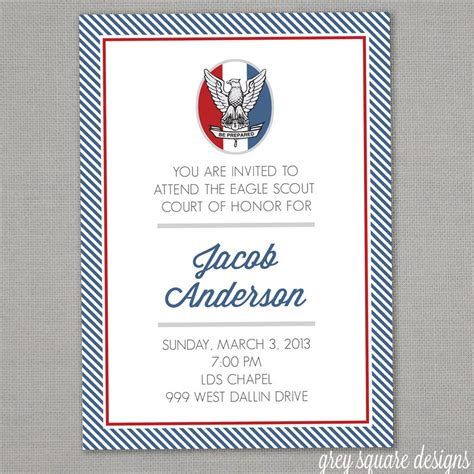 eagle scout court of honor invitation template eagle scout court of honor invitation