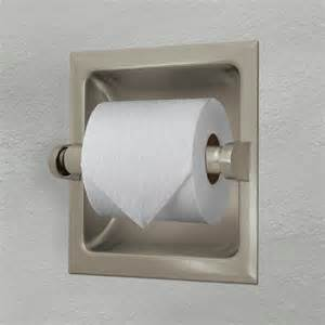 Recessed Toilet Paper Holder With Shelf by Gatco Recessed Toilet Paper Holder Free Shipping