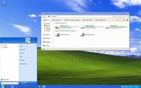 trasforma facebook in windows 7 transforma windows 7 en windows xp
