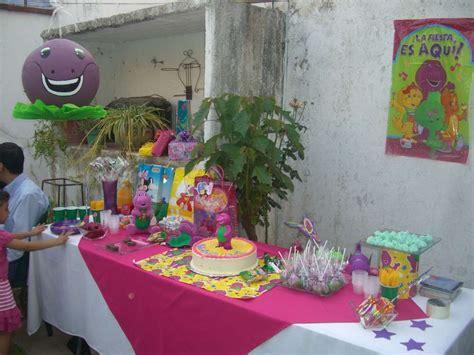 Barney Decorations by Barney The Dinosaur Birthday Ideas Photo 2 Of 9