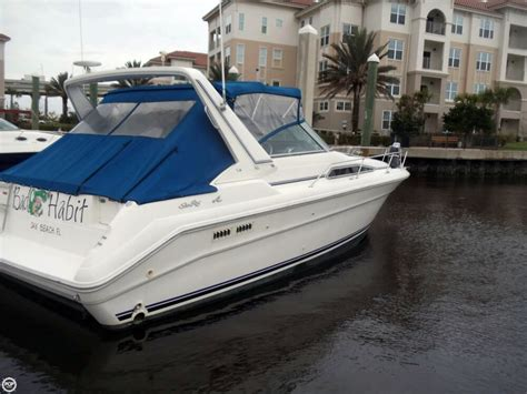 used boat for sale jax fl 1990 used sea ray 310 express cruiser boat for sale