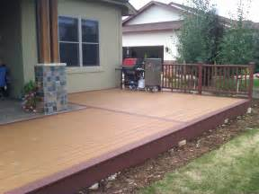 Patio Porch Ideas by Pleasant Outdoor Small Deck Designs Inspirations For Your