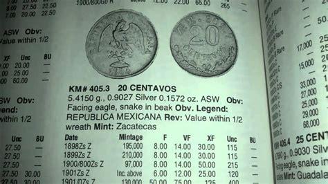 cuanto vale un dolar en moneda de 1976 1776 mexico 1 monedas de 20 centavos mexicanos y su valor youtube