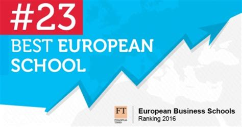 European School Of Economics Mba Ranking by Sbe Ranked 23rd In The Best European Business Schools