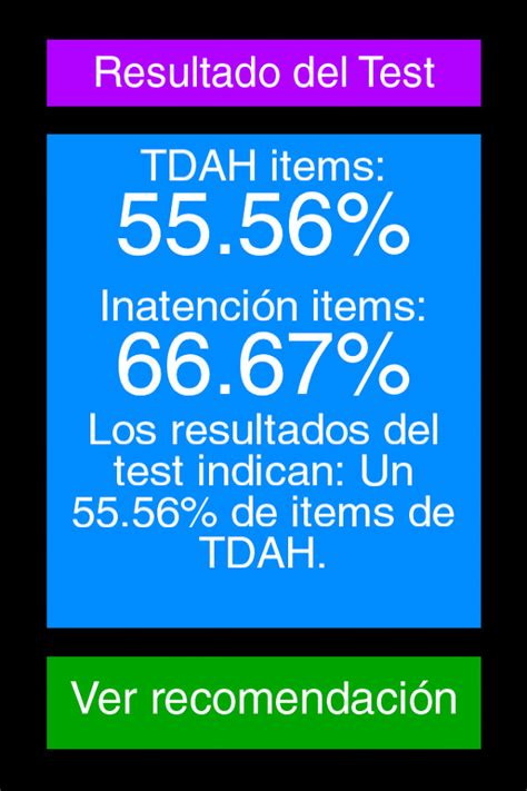 test adhd adhd test for android free