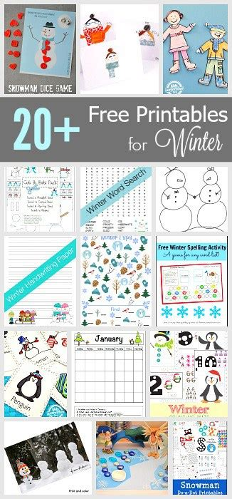 free printable winter board games free winter printables for kids buggy and buddy