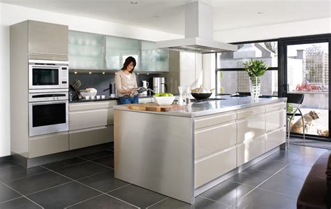 pics of contemporary kitchens contemporary kitchens refined visual appeal
