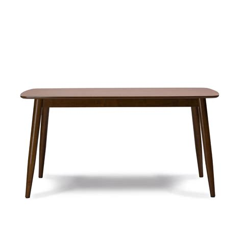 modern mid century solid quot wood dining table quot kitchen