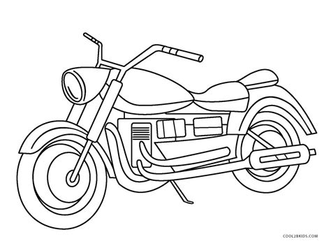 color sheets free printable motorcycle coloring pages for cool2bkids
