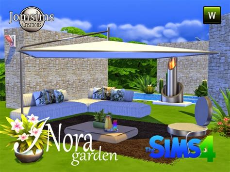 sims 4 olive garden inora garden set at jomsims creations 187 sims 4 updates