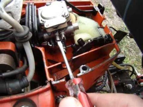 Reglage Carburateur Tronconneuse Stihl 024 by R 233 Gler Un Carburateur A Membrane Sur Un Moteur 2 Temps