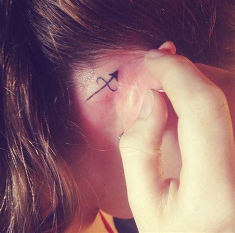 sagittarius tattoo behind ear 17 best images about tattoo inspiration on pinterest
