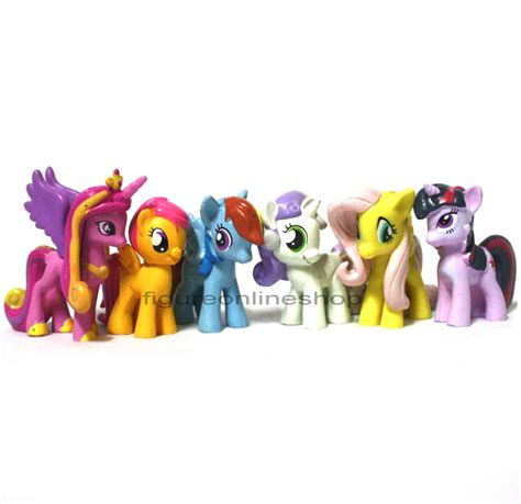 Lemari My Pony jual figure my pony mini isi 6 seri 7 figure