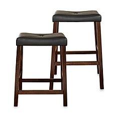 crosley furniture vintage mahogany finish upholstered saddle seat crosley upholstered saddle seat bar stools in vintage