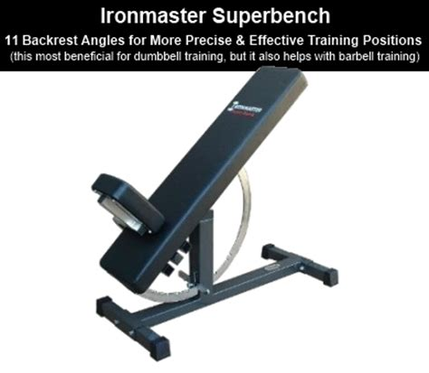 used ironmaster super bench ironmaster quick lock dumbbells review complete product