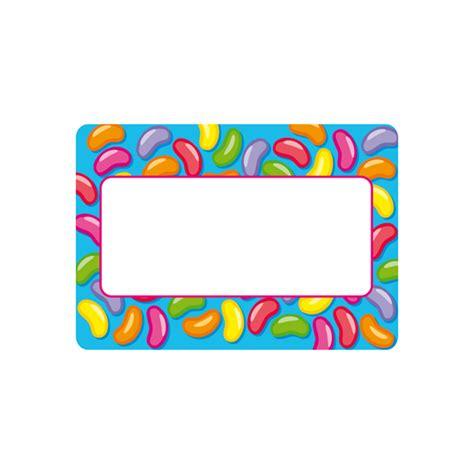 printable jelly bean name tags jelly bean border name peg drawer labels