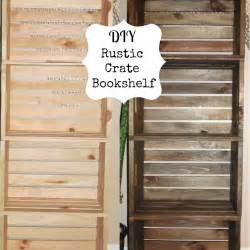 Bookcase Made From Crates Diy Making Bookshelf Out Wood Plans Free
