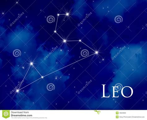 constellation leo stock photos image 4924693