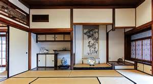 Traditional japanese style tatami rooms