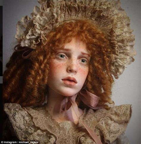 doll artists russian artist creates dolls that are eerily realistic