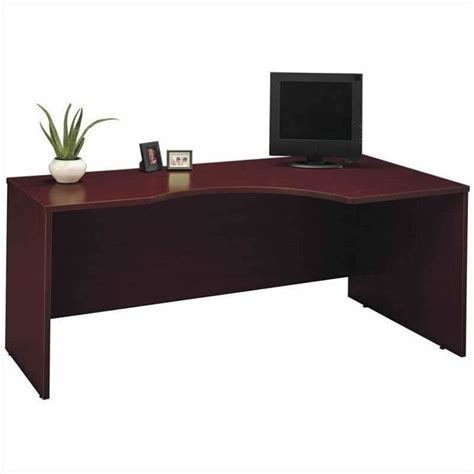Mahogany Corner Desk Bush Business Series C Mahogany Corner Desk Bsc033 367