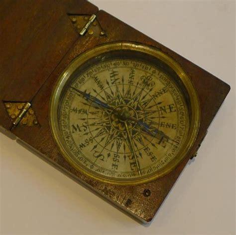 compass clear card login large georgian pocket compass c 1800 in mahogany