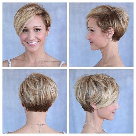 cute hair styles when growing out stacked 17 best ideas about super short bobs on pinterest short