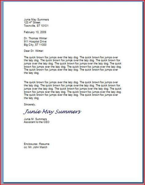 Ehow Cover Letter by View Proper Letter Format